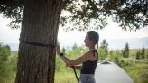 Pricey housing causes Jackson Hole workers to live in forest
