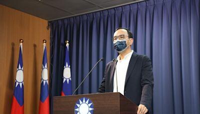 刪Q案過關 朱立倫讚台灣民主勝利、遺憾綠營操弄「抗中保台」
