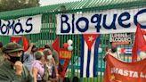 Festejan afuera de embajada de Cuba Día de la Rebeldía Nacional