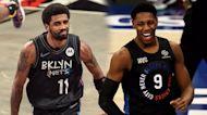 Tom Thibodeau discusses Kyrie Irving situation, RJ Barrett's development   Knicks News Conference