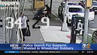 Man In Wheelchair Assaulted, Robbed