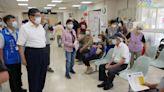 竹縣13000劑AZ疫苗開打 87歲以上長者接種順暢