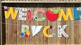 Paper Clip Garlands, Bus-Shaped Balloons & More Decorations For A Back-To-School Bash