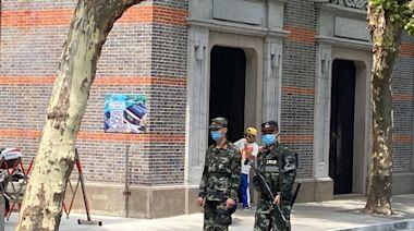中共建黨會址旁地鐵站悄悄改名 周邊戒備加強
