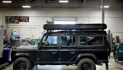 Jason Momoa Adds RedTail Rooftop Camper to His Land Rover Defender