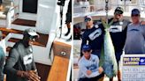 Michael Jordan caught a dolphinfish to capture an early lead in a $3.4 million fishing tournament in North Carolina