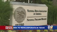 National Rifle Association Files For Bankruptcy, Announces Plan To Move To Texas