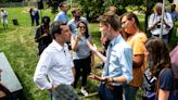 'Why not go some place where there are candidates?' Political tourists are flocking to Iowa