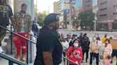 Protesters call for action after Dayton officers pull Black paraplegic man from car