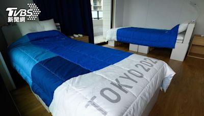 東奧選手村紙板床再利用!將捐給大阪 供新冠確診者睡