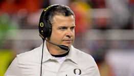 WATCH: Mario Cristobal goes wild on sideline after unsportsmanlike conduct penalty
