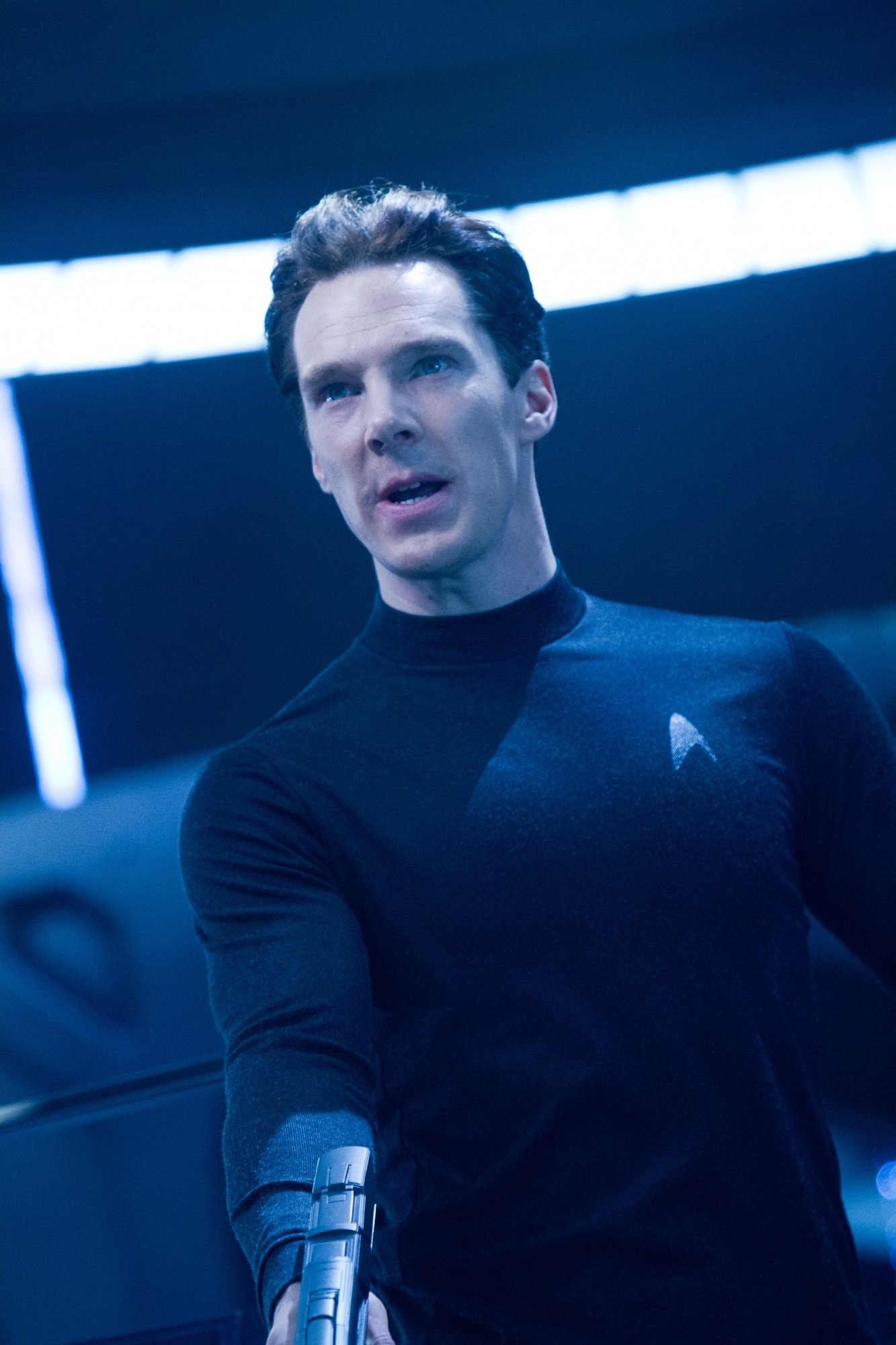 Benedict Cumberbatch Bulked up for 'Star Trek'