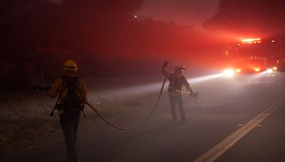 Alisal Fire keeps major California highway closed, threatens ranch once owned by Reagans