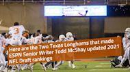 2021 NFL Draft: Two Texas Longhorns headline Todd McShay's latest big board