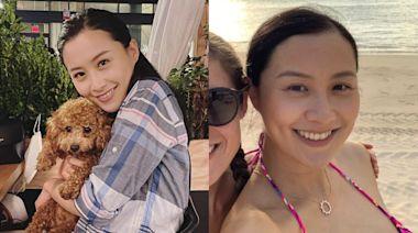 陳法拉留家度39歲生日 激罕曬素顏比堅尼照美貌不輸全盛選美時期