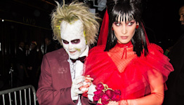 5 Playful and Chic Halloween Costumes That Require Only a Red Dress