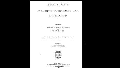 La histórica enciclopedia biográfica que contenía docenas de entradas sobre personajes que jamás existieron