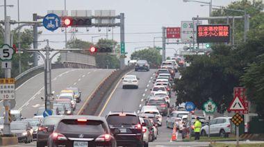 疫情升溫 國5假日車流量少了30%