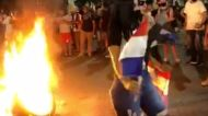 Protests in Asuncion Against Government's Response to Coronavirus Pandemic