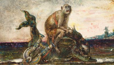 Gustave Moreau: The Fables, Waddesdon, review: like a jeweller 'drunk on colour'