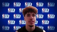 LaMelo on facing Pacers in Play-In Tournament: 'We got an advantage'
