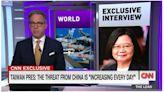 蔡總統接受美國CNN獨家專訪 首次證實美軍在台灣進行訓練 | 台灣英文新聞 | 2021-10-28 10:45:00