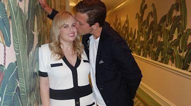 Rebel Wilson Gets a Kiss from Boyfriend Jacob Busch as He Calls Himself a 'Lucky Guy'