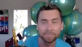 NSYNC Reunites Virtually to Give Lance Bass the Ultimate Birthday Surprise