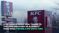 Former KFC employee makes wild discovery after revisiting his old restaurant