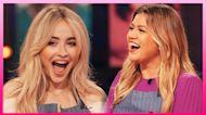 Sabrina Carpenter Still Cries Listening To Kelly Clarkson
