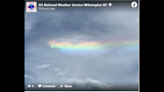 A 'fire rainbow' is spotted over coastal South Carolina. What caused the phenomenon?