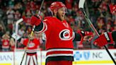 Canes defenseman Jaccob Slavin has won the NHL's Lady Byng Memorial Trophy