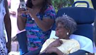 Happy 112th birthday, Ms. Elizabeth Francis!