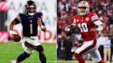 NFL Week 8 picks, odds: 49ers face must-win against Justin Fields, Bears