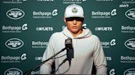 Zach Wilson explains knee injury vs. Patriots | Jets Post Game