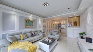 綠建材與新古典聯手,5口之家洋溢正能量生命力