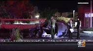 Two Killed In Fiery, Explosive Hit-And-Run Wreck Near Antelope Valley Mall In Palmdale