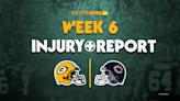 Analyzing Packers' final injury report for Week 6 vs. Bears