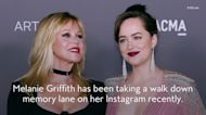 Melanie Griffith Shared Throwback a Photo of Herself with Daughter Dakota Johnson
