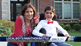 Madeira boy with rare genetic disease loses ability to walk, needs wheelchair accessible van