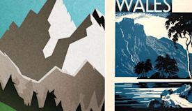 People in Wales are creating witty travel posters encouraging visitors to stay away