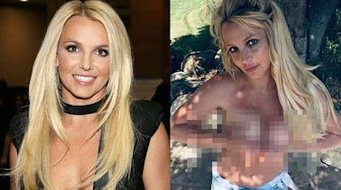 Britney Spears突上載半裸照超嚇人 粉絲疑偶像反常態向外界求救