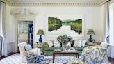 Elegance Goes Untamed with Spirited Color and Pattern in a Connecticut Estate