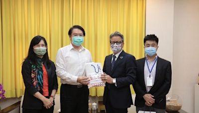 日本台灣交流協會副代表拜會基隆