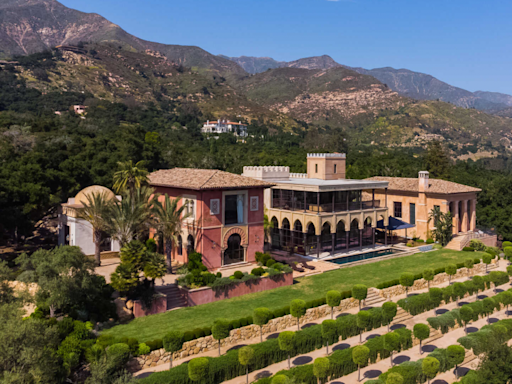 This $35 Million Montecito Mansion Is a Dead Ringer for Spain's Alhambra Palace