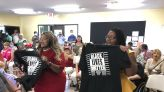 Black Lives Matter supporters disrupt Loeffler event