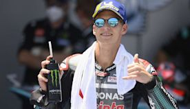 My family is starting to get a bit drunk! - Quartararo thrilled with Jerez double