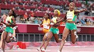 Jamaica sweeps the women's 100-meter finals, Ledecky and Dressel win more gold, U.S. men's basketball crushes Czech Republic | What You Missed