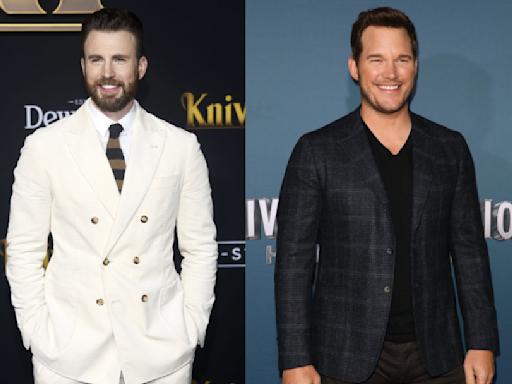 The Chris Evans, Chris Pratt, Chris Hemsworth feud is still going on apparently