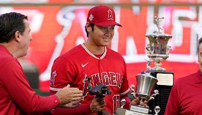 為美聯MVP暖身 大谷翔平獨得天使年度MVP及最佳投手